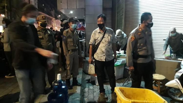 Lawan Corona, Polsek Medan Barat Ajak Warga Patuhi Prokes