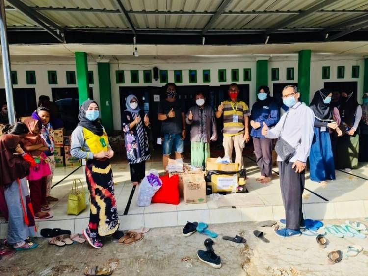 Kemen PPPA Salurkan Bantuan untuk Perempuan dan Anak Korban Bencana Banjir di Kalimantan Selatan