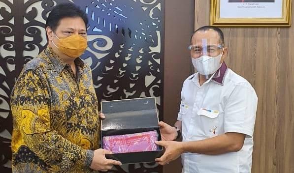 Peralihan Aset Eks Otorita Asahan ke Batu Bara, Bupati Audiensi dengan Menteri Koordinator Bidang Perekonomian
