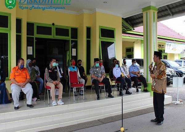 Pemko Padangsidimpuan, MRI dan KK Salurkan Bantuan 50 Ton Beras ke Warga yang Terkena Musibah di Indonesia