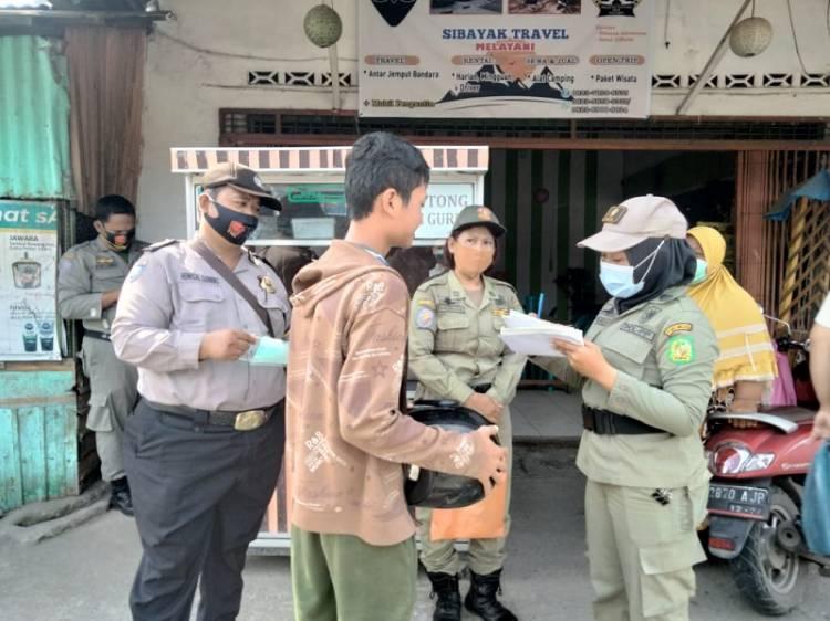 18 Warga Langgar Prokes, Polsek Medan Timur Berikan Sanksi Sosial