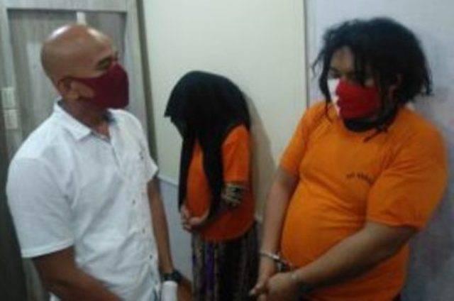 Pasangan Kekasih Paruh Baya Ditangkap Polisi di Kawasan Jalan AR Hakim Medan