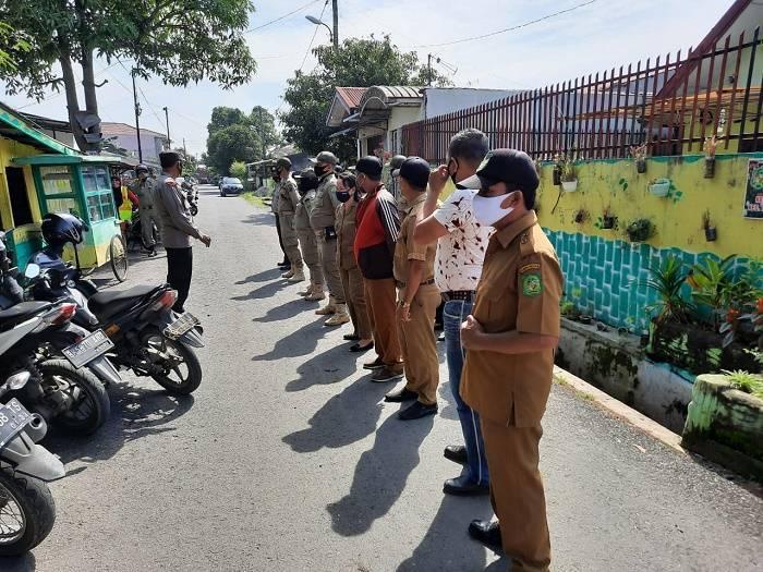 20 Warga Bacakan Teks Pancasila Saat Terjaring Operasi Yustisi Polsek Medan Timur
