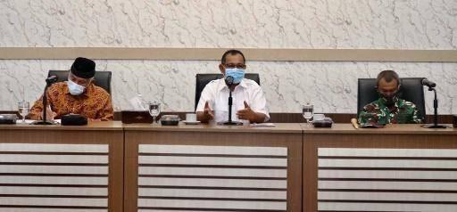 Akhyar Nasution Sambut Kedatangan Wali Kota Padang di Kota Medan