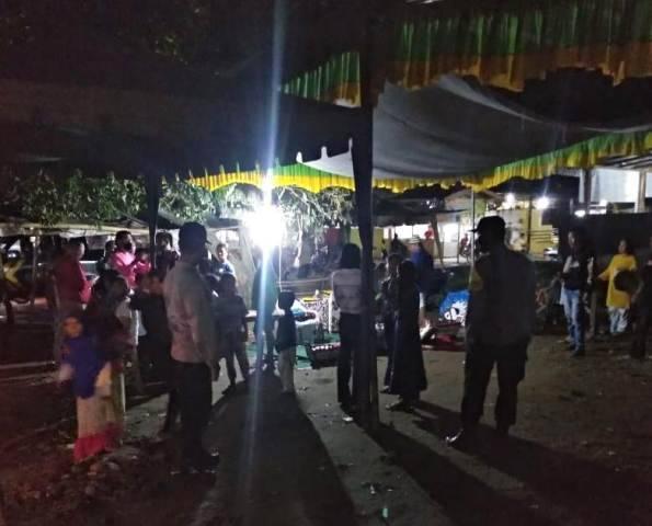 Pertunjukan Jaran Kepang Dibubarkan Polisi, Polsek Tanjung Morawa Himbau Masyarakat Disiplin Patuhi Prokes