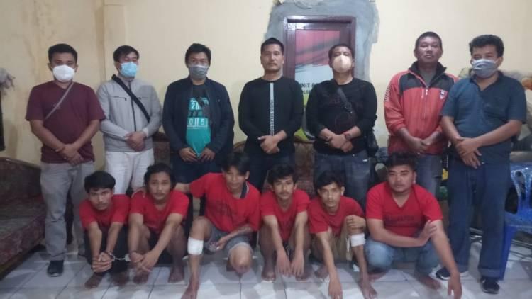 Enam Remaja Pelaku Begal Ditangkap, Dua Diantaranya Ditembak
