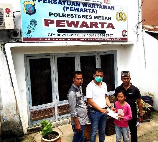 Pandemi Covid-19 Belum Usai, Ketua Pewarta Chairum Lubis Kembali Santuni Ratusan Anak Yatim