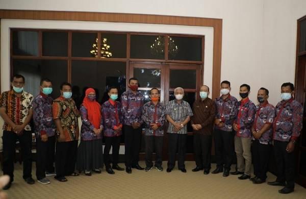 Bupati Asahan Berharap Persatuan Perangkat Desa Indonesia Beri Kontribusi Membangun Pedesaan