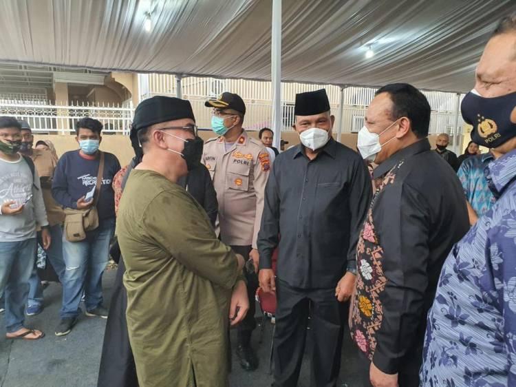 Ibu dari Wakil Ketua KPK Meninggal, Ketua KAD Sumut Melayat ke Rumah Duka