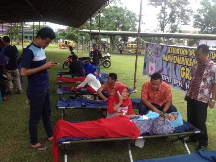 DPD IPK Kota Binjai Gelar Kegiatan Donor Darah
