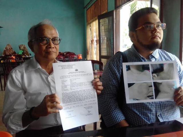 Mantan Camat STM Hilir Diduga Tampar, Cakar dan Banting Istrinya