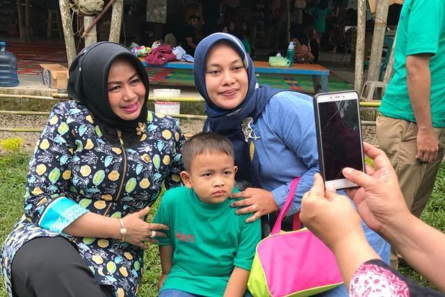 Evi Diana Nuradi Berharap Orangtua yang Anaknya Menderita Kanker Jangan Berputus Asa