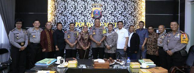 Kapolda Sumut Terima Audiensi DPRD dan Pemko Padang Sidempuan
