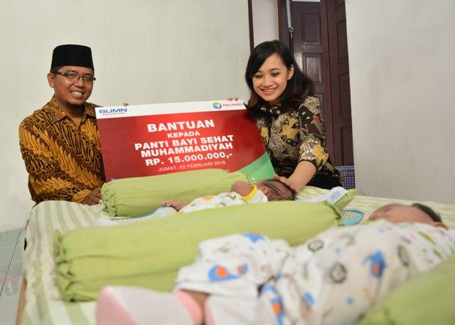 Pelindo 1 Kembali Salurkan Bantuan Ke Panti Asuhan Bayi