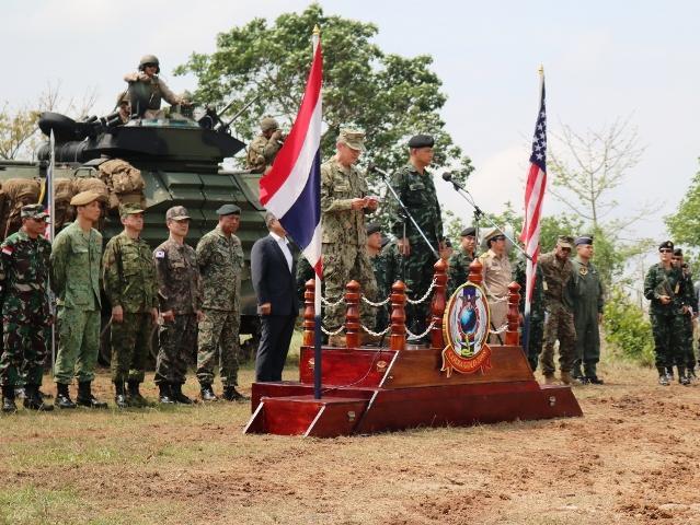 Jenderal Tarnchaiyan Srisuwan Tutup Cobra Gold 2018 di Thailand