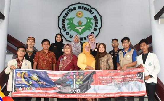 Unimed Terima Kunjungan Akademik Mahasiswa Unisel Malaysia