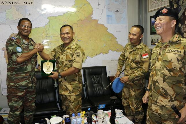 Pasukan Indonesia Sangat Membantu Misi PBB di Republik Afrika Tengah