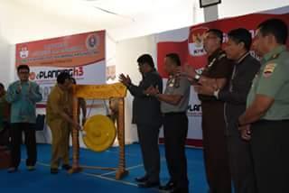 Dihadiri Tim Satgas Korsupgah KPK, Bupati Humbahas Launching e-Planning dan e-Perizinan