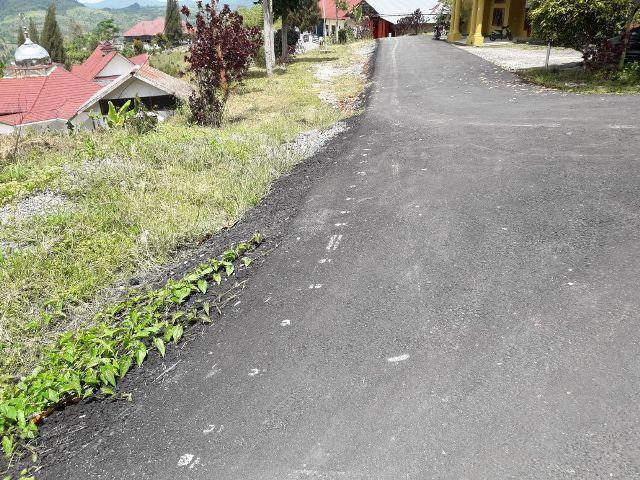 Proyek Peningkatan Jalan di Komplek Perkantoran Pakpak Bharat Molor, Kejatisu Siap Turun Tangan