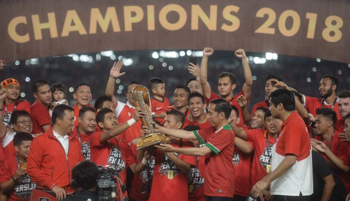 Juara Piala Presiden, Persija Jakarta Berhak Atas Dana Pembinaan Senilai Rp 3,3 Miliar