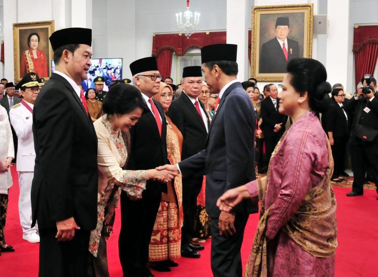 Termasuk untuk Korut, Presiden Jokowi Lantik 5 Dubes Baru Indonesia untuk Negara Sahabat