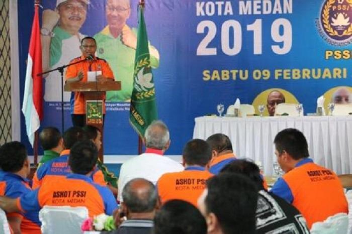 Kongres Askot PSSI Kota Medan Periode 2019-2023 Digelar, Ini Kata Walikota Medan