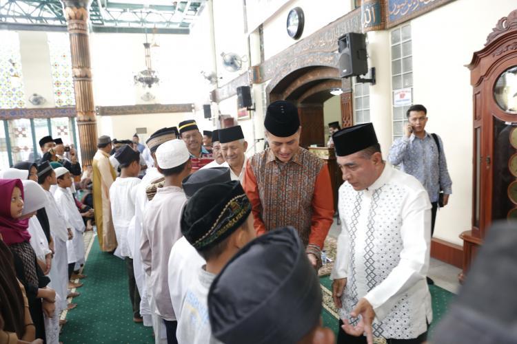 Gubsu Harapkan Masyarakat Aceh di Sumut Turut Serta Membangun Perekonomian Umat
