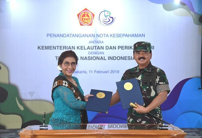 Sinergi TNI dan KKP Amankan Kekayaan Laut Indonesia