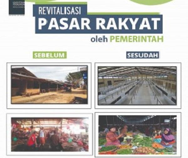 Targetkan 5 Ribu Pasar dalam 4 Tahun, Hingga 2018 Pemerintah Telah Revitalisasi 4.211 Pasar Rakyat