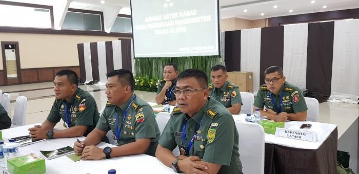 Aster Kasad Buka Rakernis Bidang Teritorial TNI AD 2019