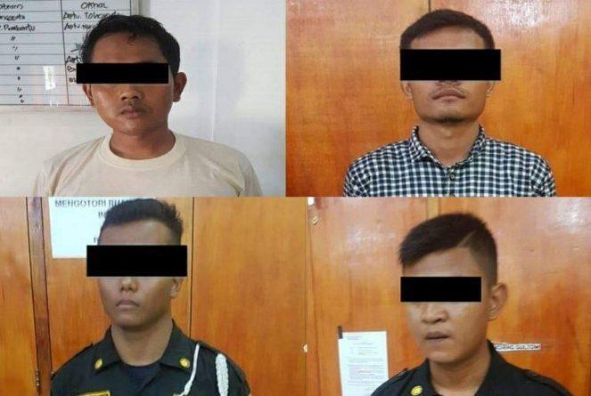 4 Satpam Unimed Ditahan Polrestabes Medan Terkait Kasus Penganiayaan 2 Pria Diduga Maling