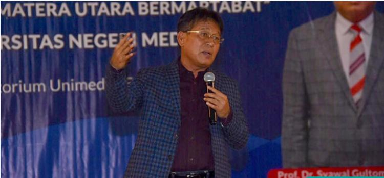 Rektor Unimed: Profesi Guru Tidak Tergerus Revolusi Industri