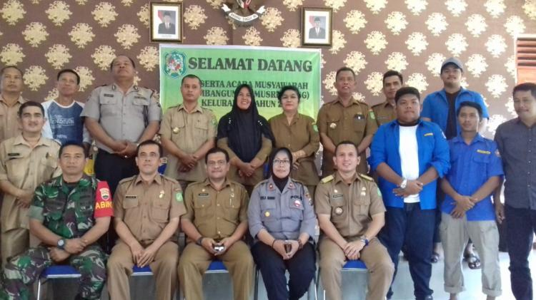 Kapolsek Medan Helvetia Menghadiri Musrenbang Kelurahan Dwikora