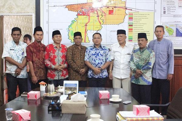 Terima Audiensi DMI Kota Binjai, Wali Kota Janji Bantu Siapkan Aplikasi e-Masjid