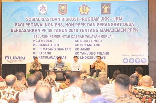 Walikota Medan Ikuti FGD tentang JKK dan JKM