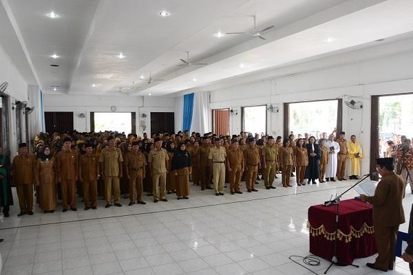 Wabup Deli Serdang Lantik 267 Kepala Sekolah dan Pengawas Tkt TK, SD dan SMP