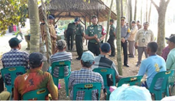 Tim Sergab Mabesad Kunjungi Kodim 0207/Simalungun