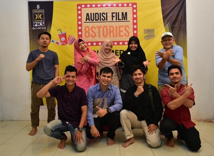 Audisi Film PKS 8 Stories, 2 Peserta Lolos dari Medan