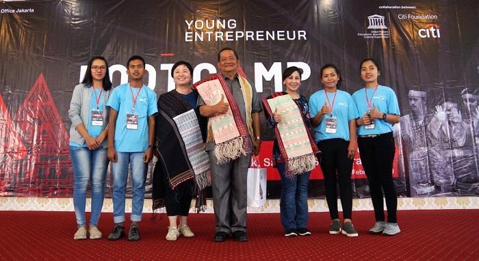117 Pemuda di Kawasan Danau Toba Ikuti Bootcamp Wirausaha Muda 2019 dari Citi Indonesia dan UNESCO