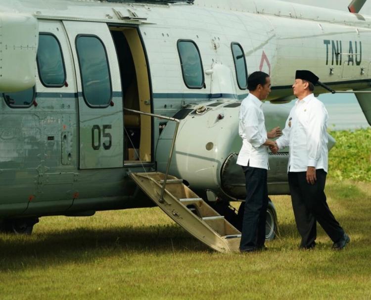 Presiden Jokowi Setuju Bantuan Rehabilitasi Rumah Korban Tsunami Banten Diberikan Tunai