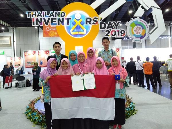Tim KII MAN Serdang Bedagai Sukses Raih Medali Perak di Thailand