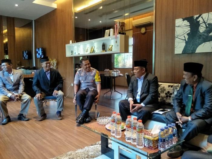 PM Tabagsel Audiensi ke Polres Deli Serdang
