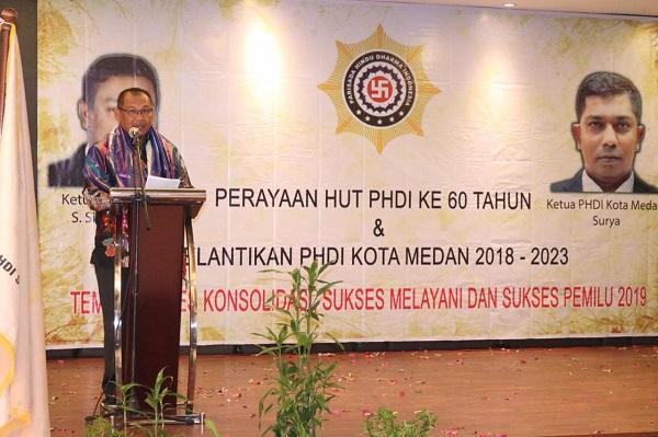 Wali Kota Harapkan PHDI Terus Dukung Program Pembangunan Kota Medan