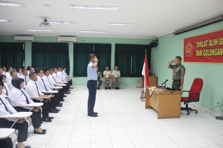 Diklat Alih Golongan PNS TNI Wujud Perhatian dari Organisasi