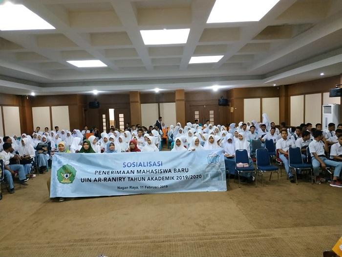 UIN Ar-Raniry Gelar Sosialisasi Masuk PTN 2019 di Nagan Raya