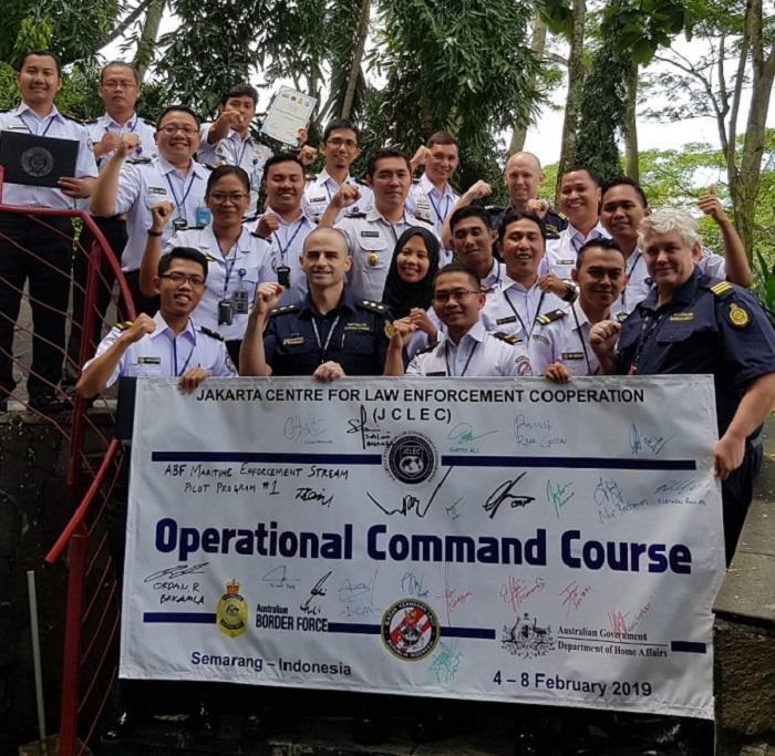 Personel Bakamla Ikuti Operational Command Course di JCLEC