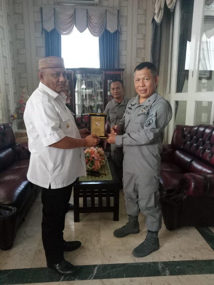 Kepala Zona Kamla Tengah Temui Gubernur Gorontalo, Bahas Kerjasama Keamanan Maritim