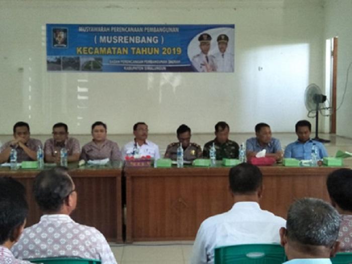 Danramil 01/Siantar Utara Hadiri Rapat Musrenbang di Kelurahan Martoba