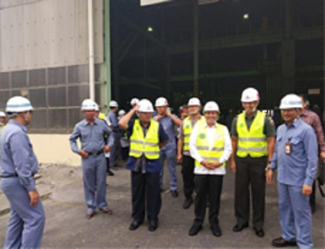 Melihat Kesiapan Ekspansi Pelabuhan Kuala Tanjung, Menteri Perekonomian Kunjungi Inalum