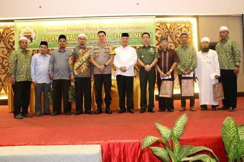 Silaturahmi BKM se-Kota Medan, Walikota Ingatkan Pengurus Ikut Sukseskan Pemilu 2019